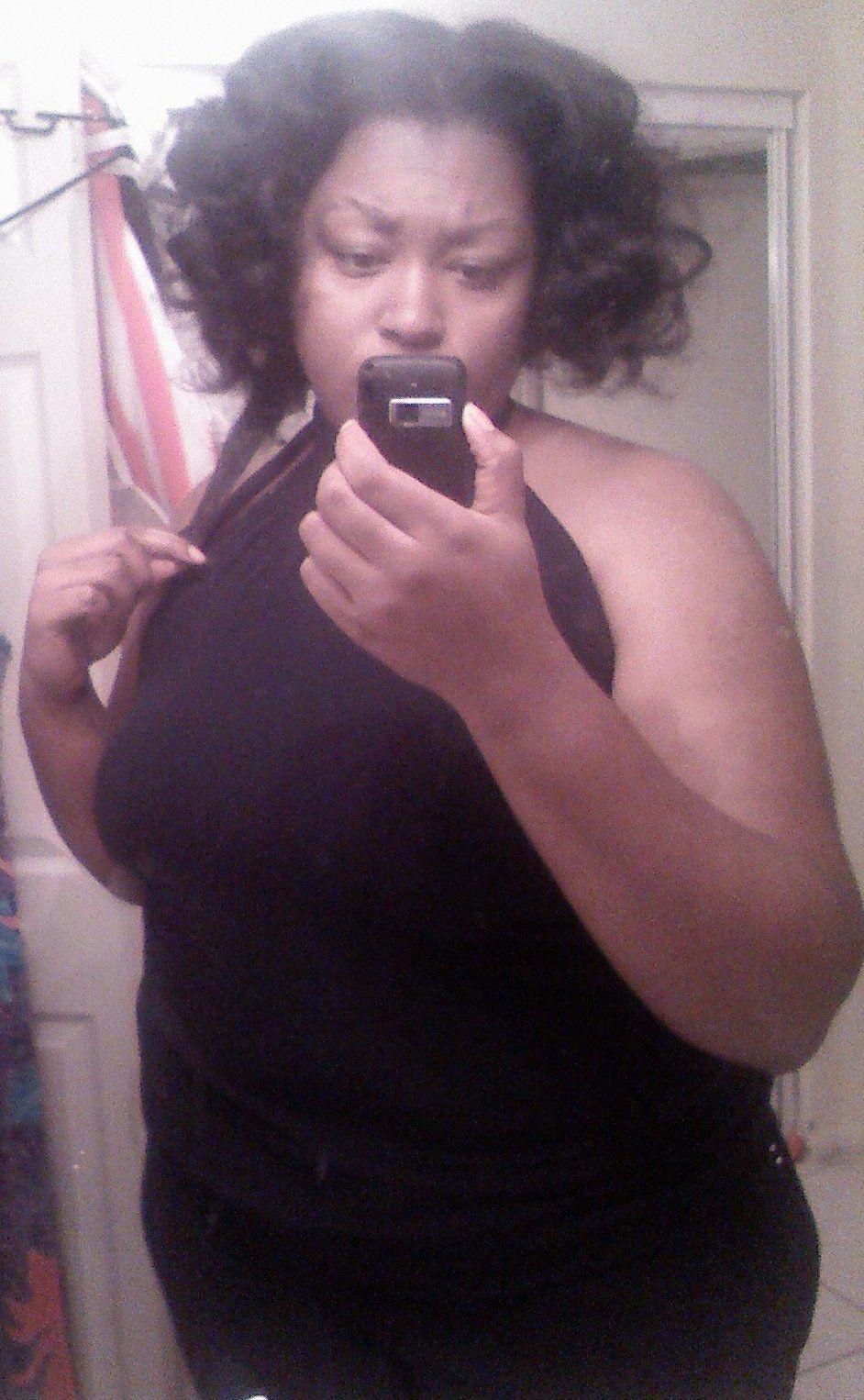 Black girl thumbs