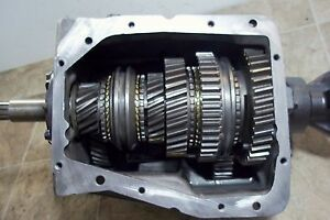 Changing gear ratio in sm465 tranny