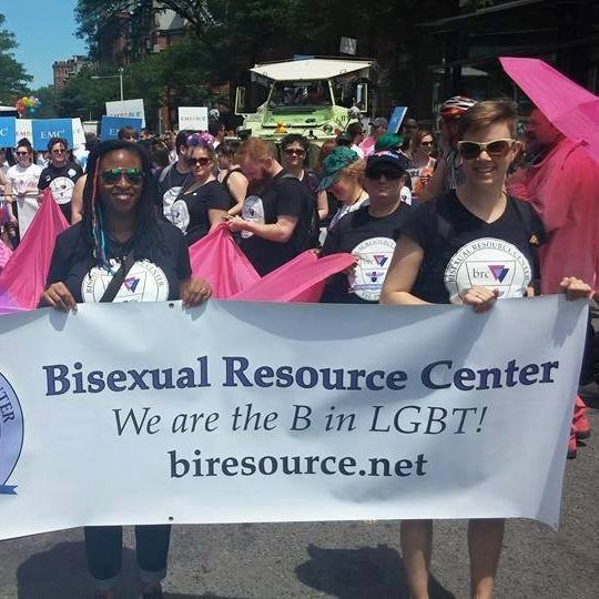 Members of the bisexual resource group Group