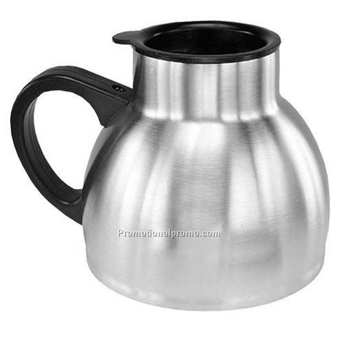 Steel chubby mug