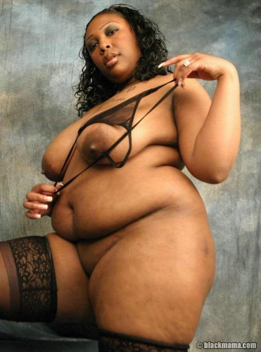 Obese naked black women