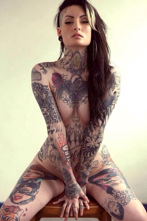 Apologise, tattooed girls nude hd