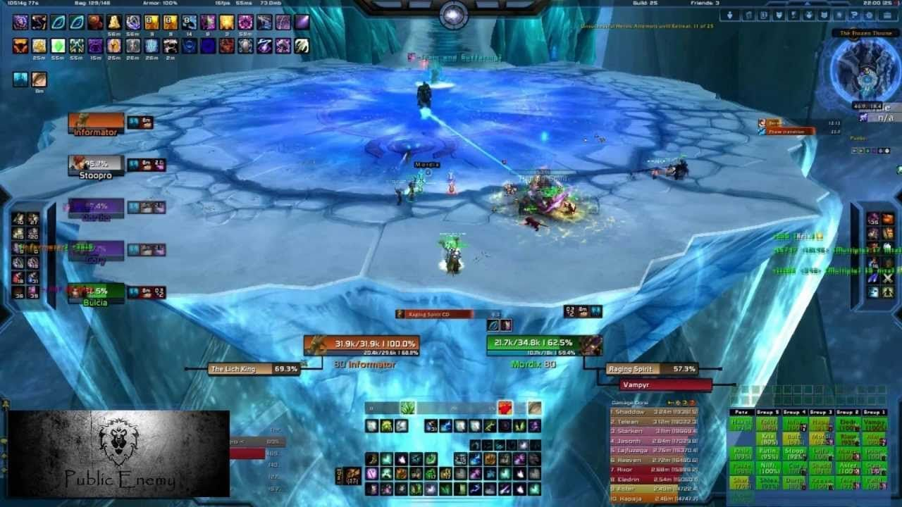Tic T. reccomend Lick king kills server first