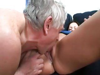 Old men eating pussy porno gifs