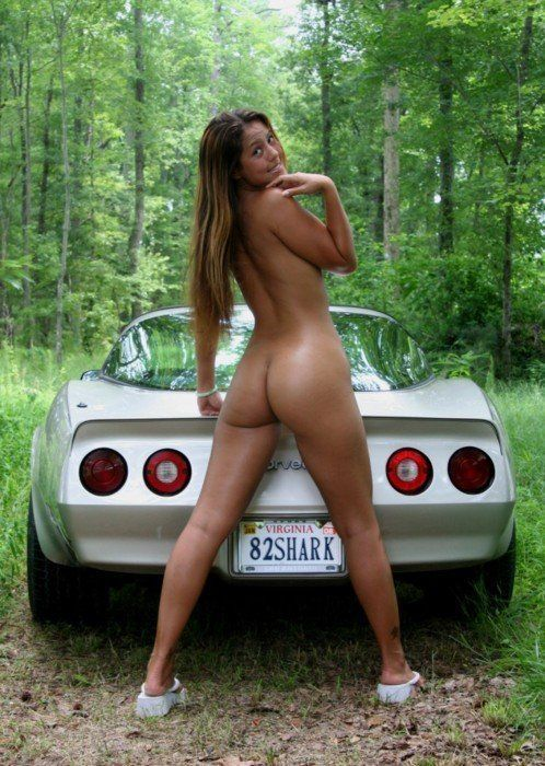 best of Hot nacked chicks Cars with