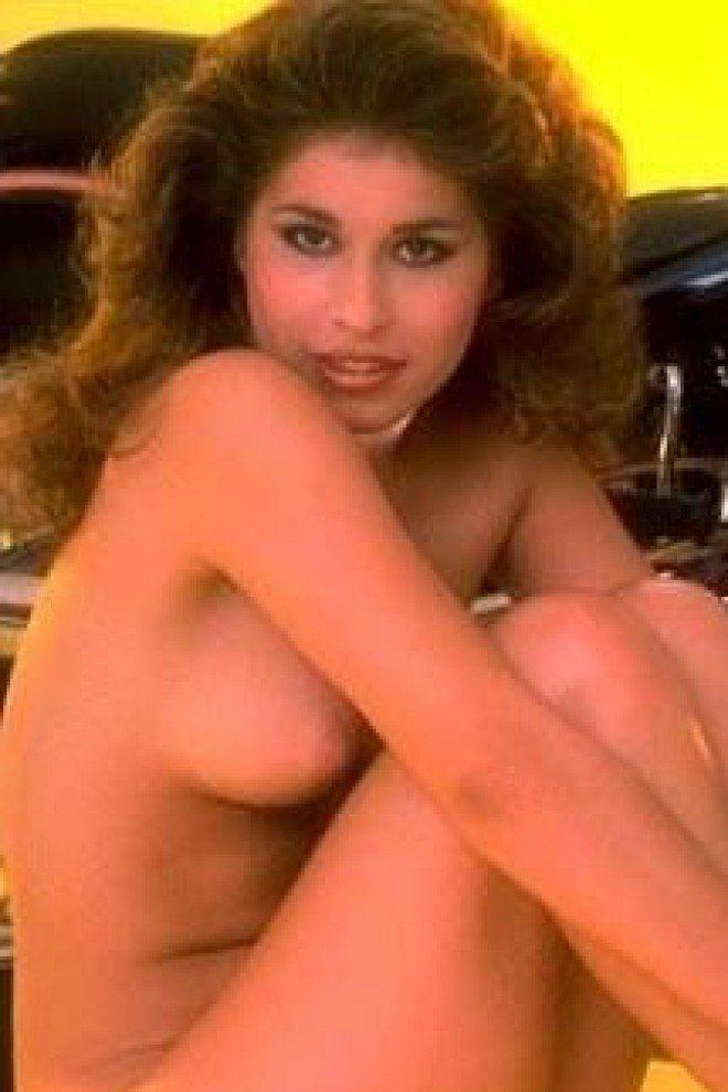 Blonde british nude model