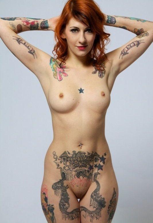 best of Nude photos women Tattooed
