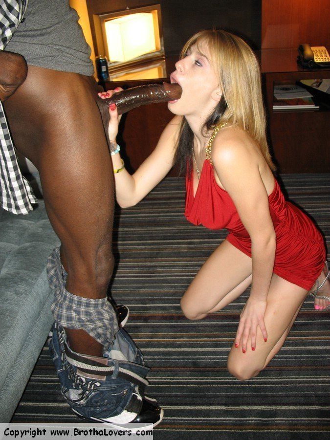 Interracial amateurs brotha lover