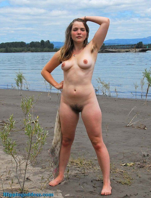Sorry, hairy babe beach naked