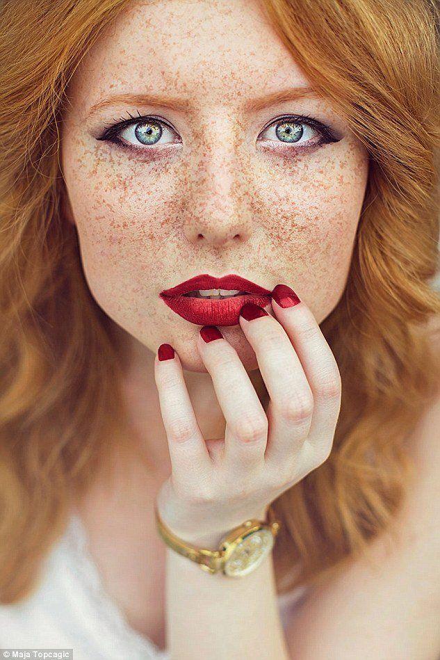 Devil reccomend Redhead wife creams on bbc