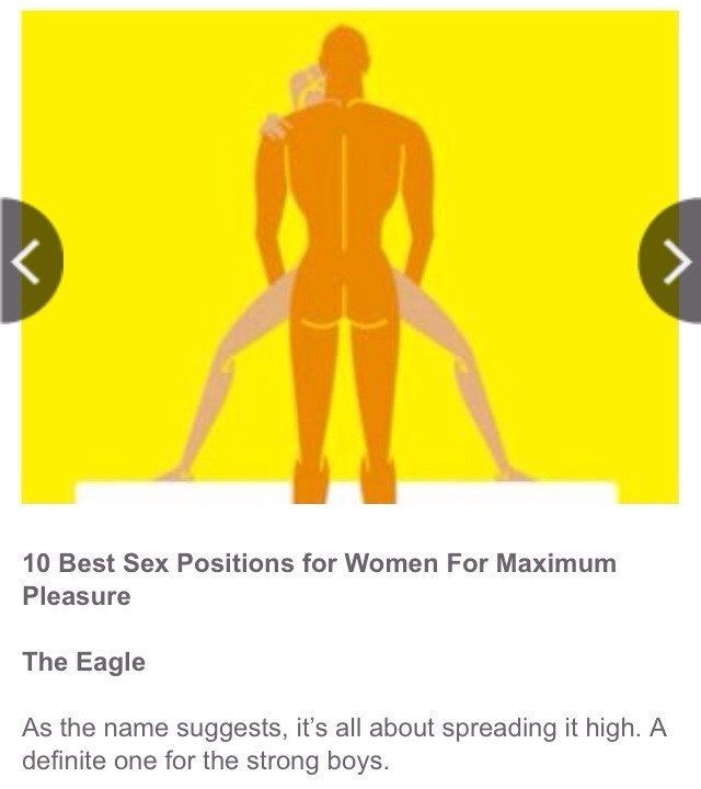 Opinion A womans most satisfying sexual position opinion
