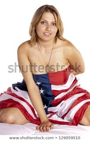 best of Nude Sexy american flag
