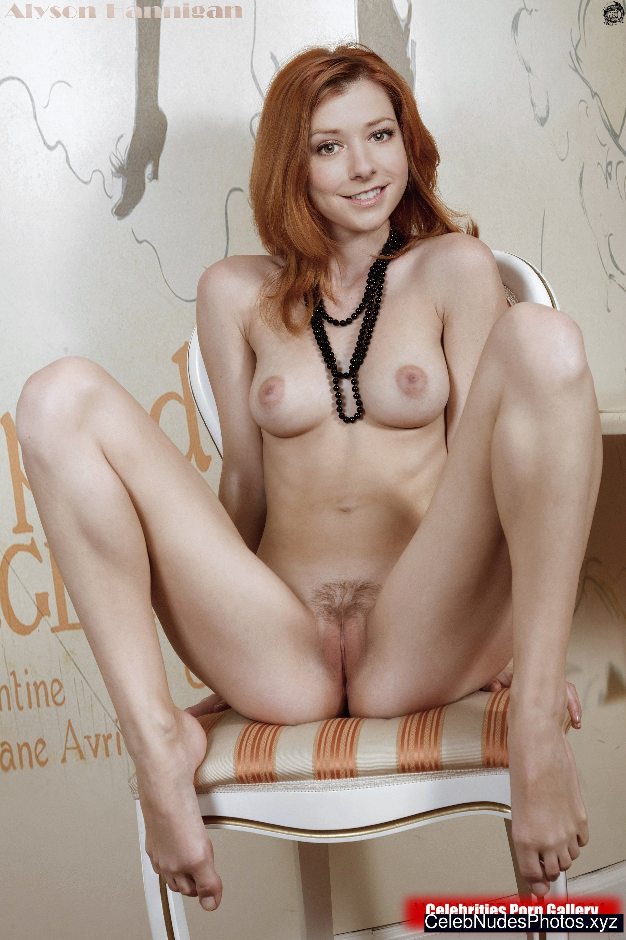 100 Photos of Alyson Hannigan Nude Porn