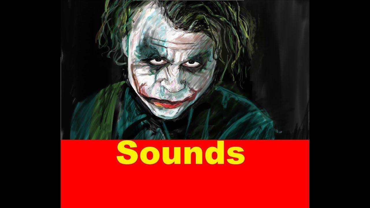 Lifesaver reccomend The joker sound bites