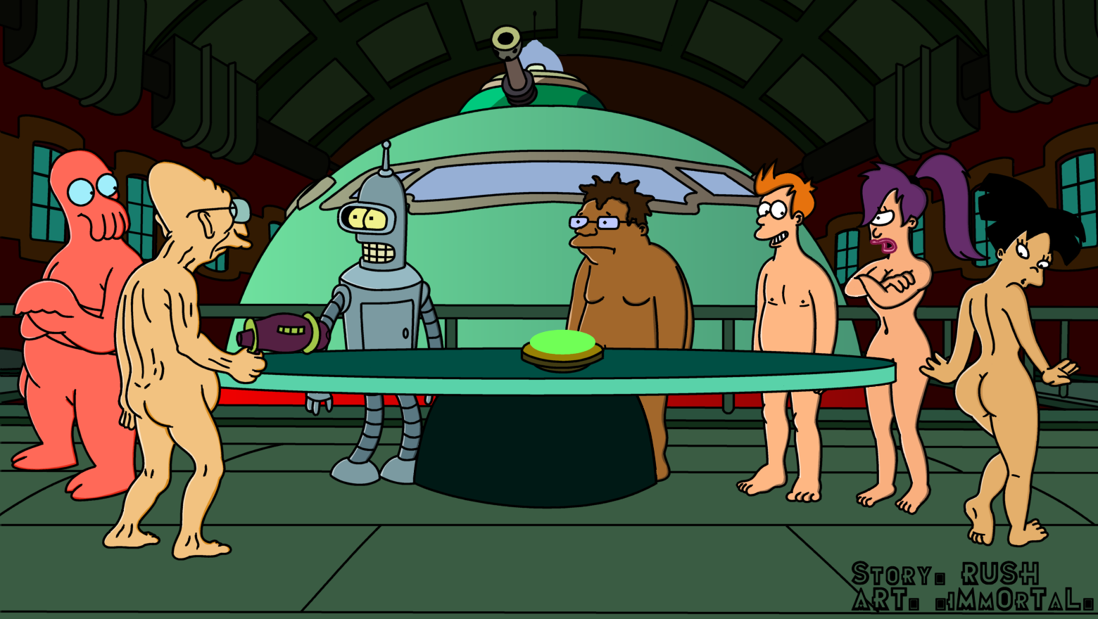 Futurama Hardcore Porn futurama all girls naked . best porno.