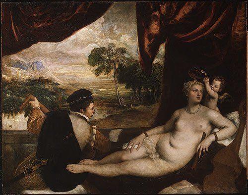 Renaissance Nude Lesbians