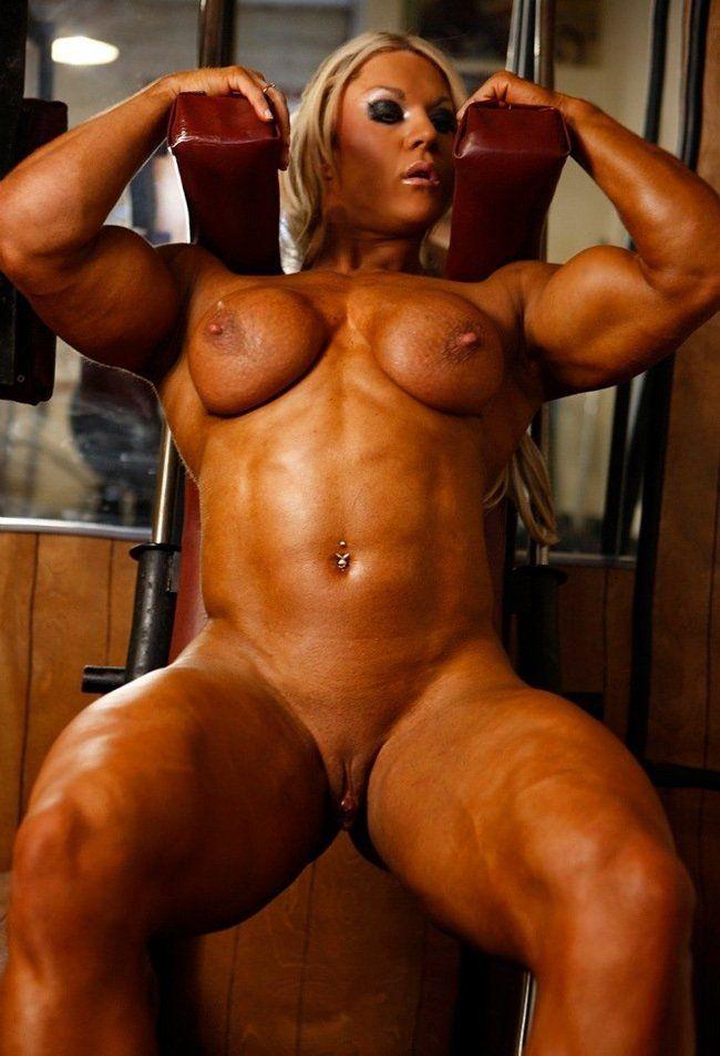 Muscular huge women nude sex video