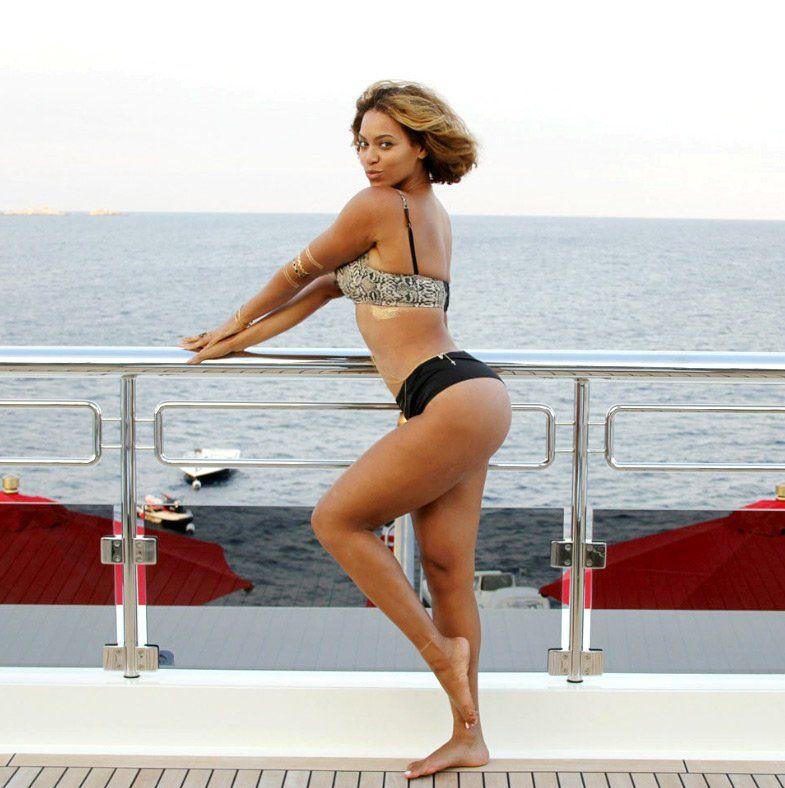 Beyonce bikini in picture