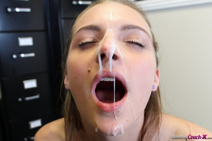 girls with cum on thier faces