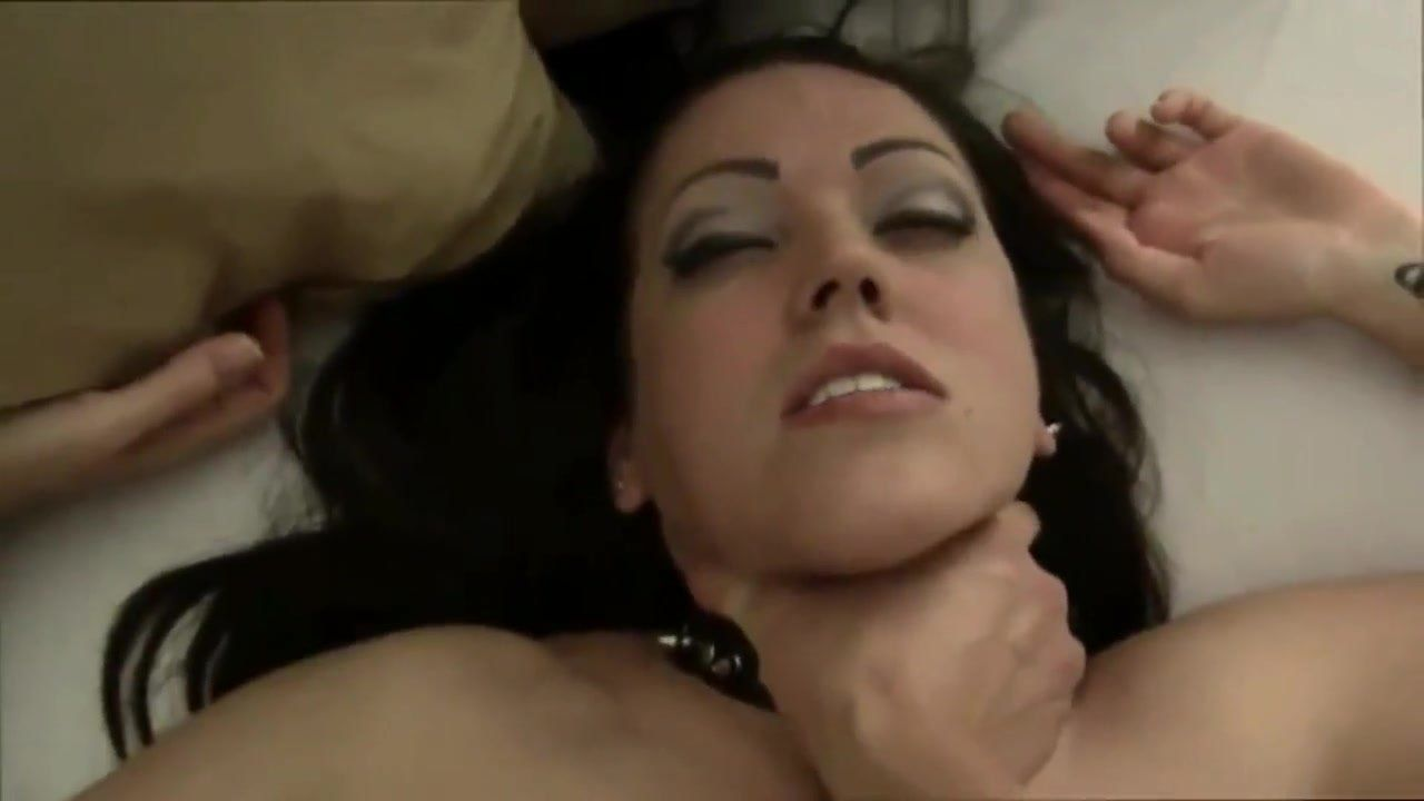 Girl choked out during sex video