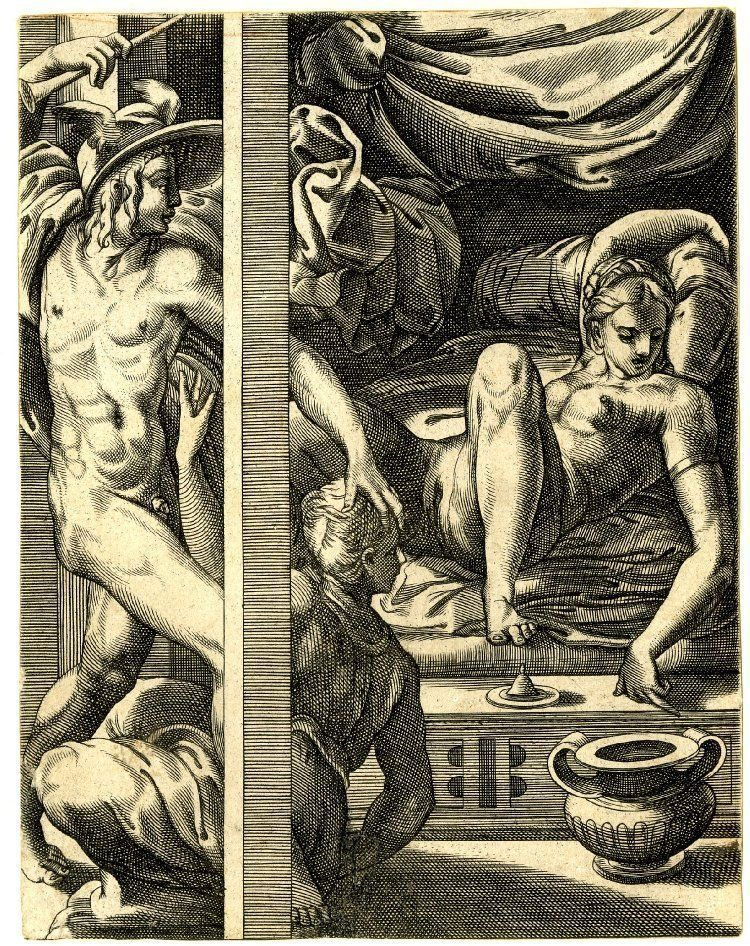 Renaissance erotic paintings