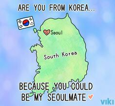 Jelly B. reccomend Korean pick up lines