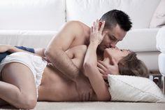 Nude sexy couple kiss