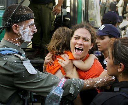 Gaza strip jew evacuation
