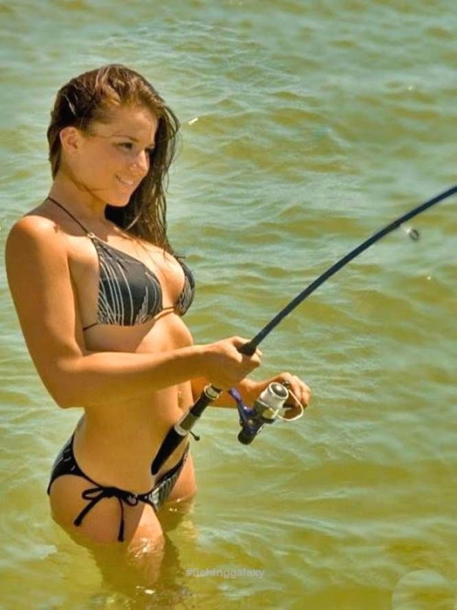Fish rod masturbation horny