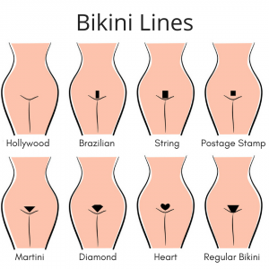 Bikini hollywood wax