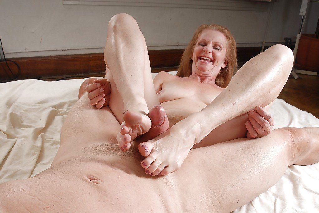 Nude grannys sexy feet