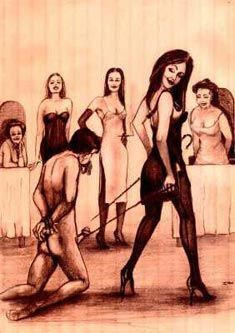 Fetish and slave auction