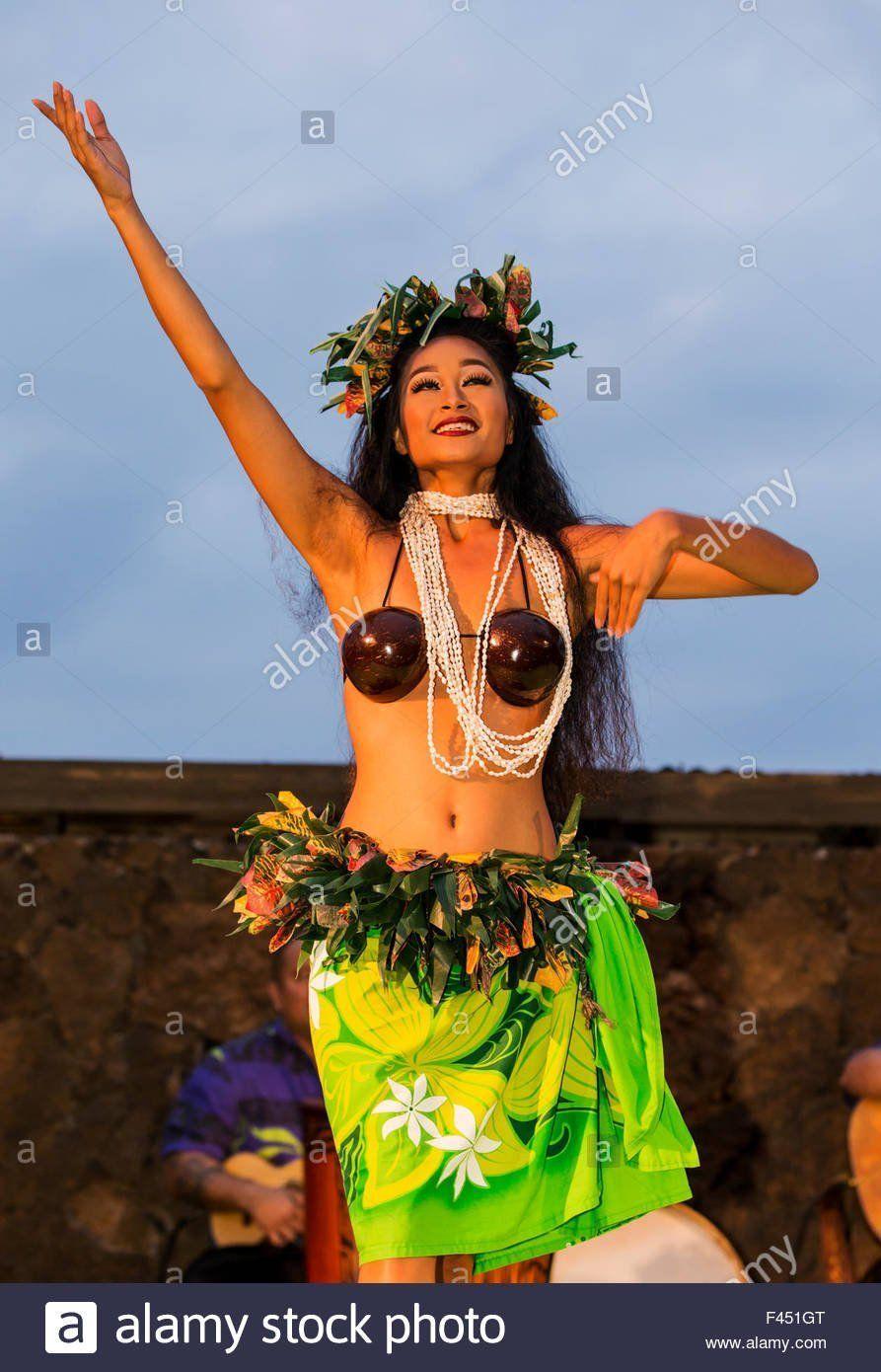 best of In Beautiful luau woman