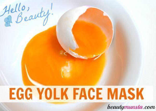 Dove reccomend Egg yolk facial