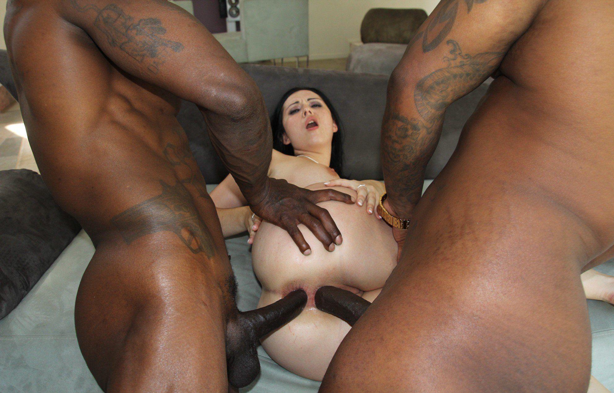 Inter racial dobule penetration