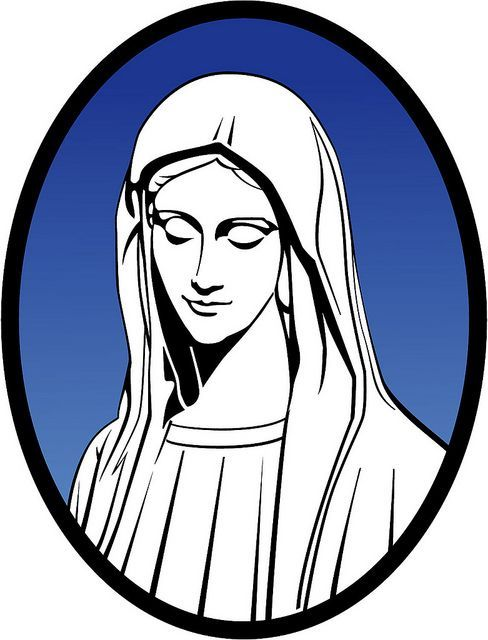 Ref reccomend Clip art of the blessed virgin mary