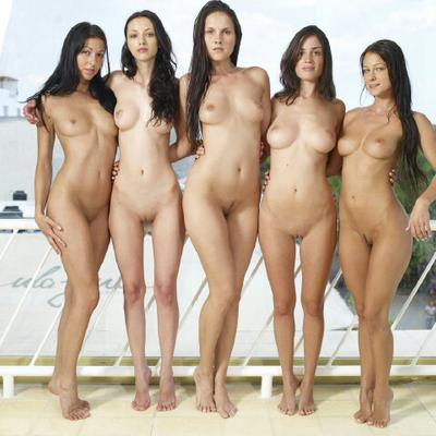Sorry, groups of girls naked agree