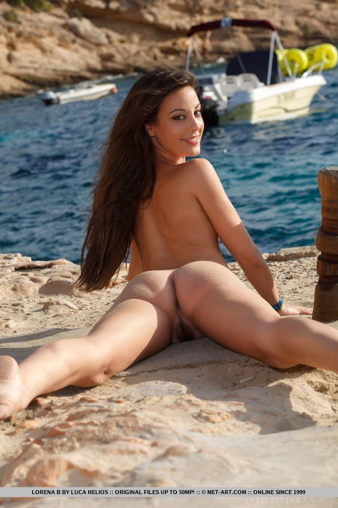 Opinion hairy babe beach naked