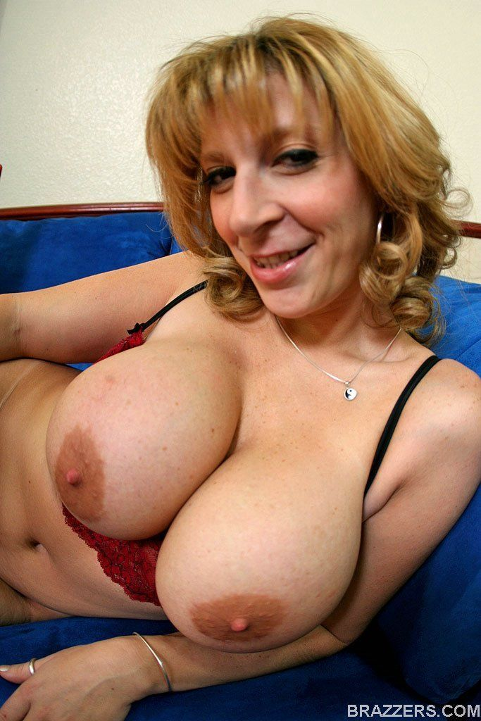 Busty blonde strip
