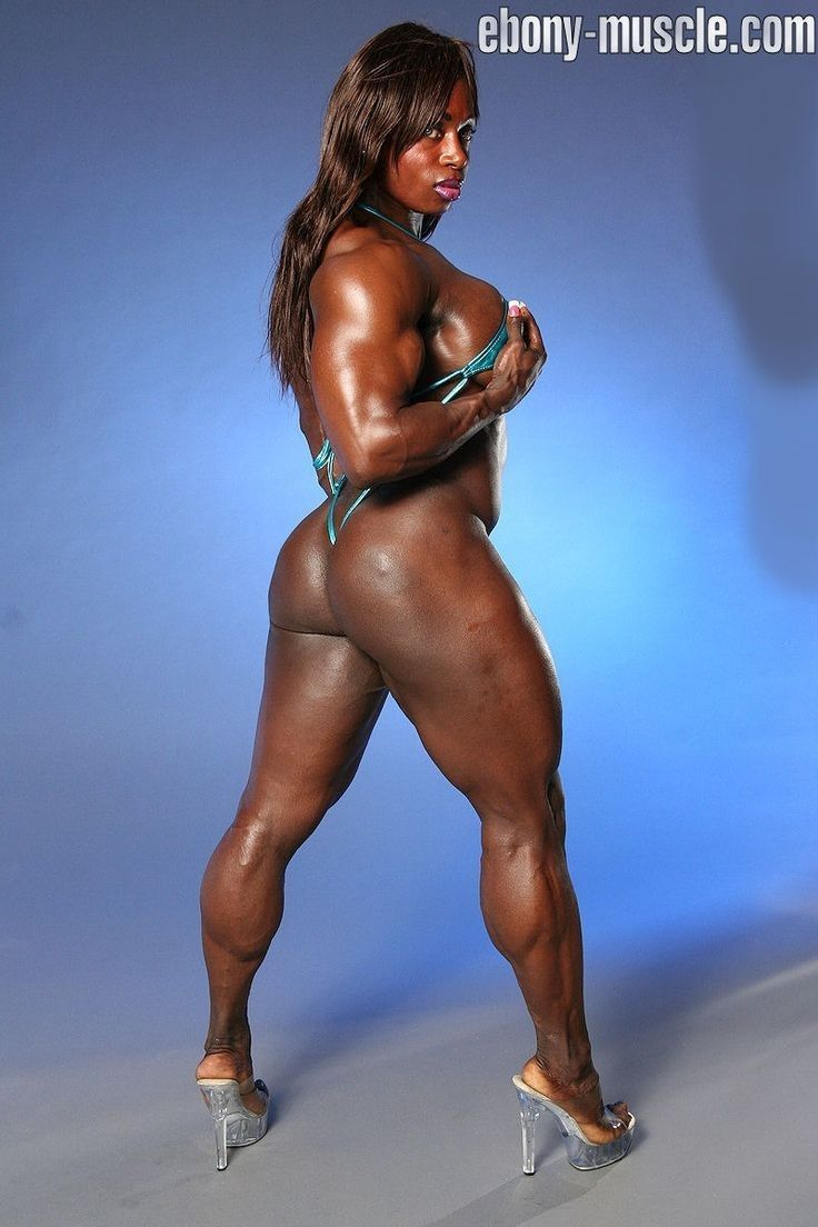 Ebony muscle seductive girls pics