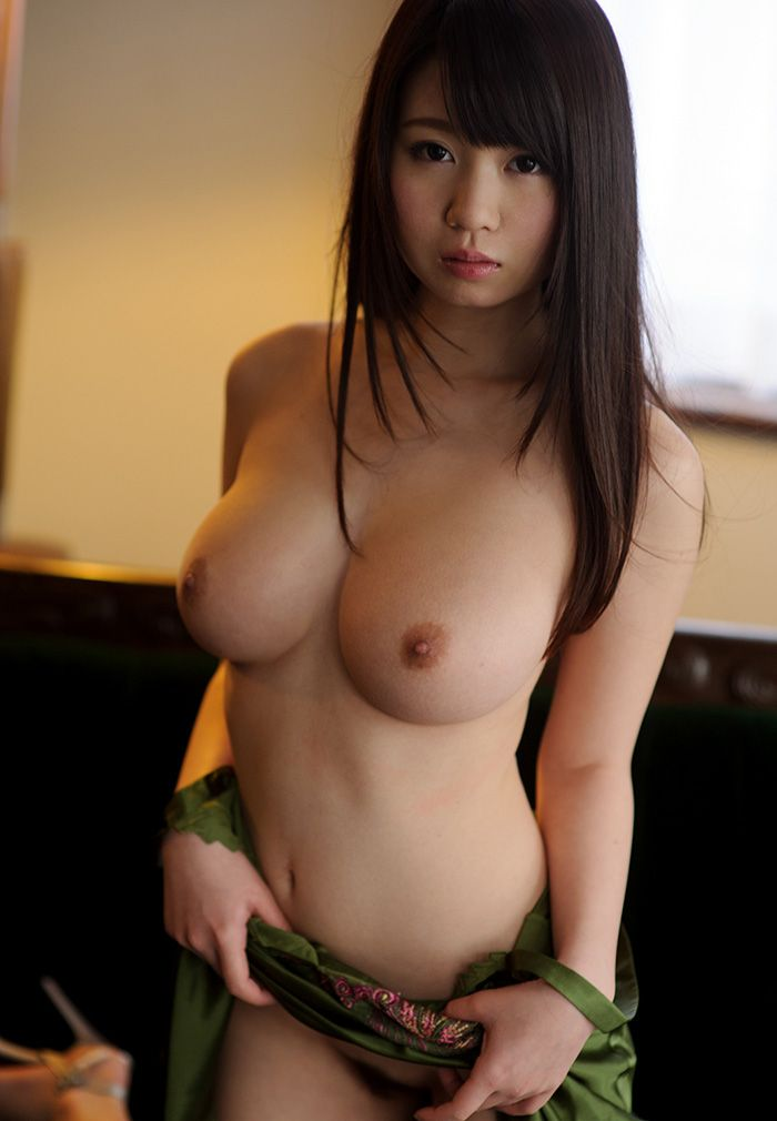 Asian female looking
