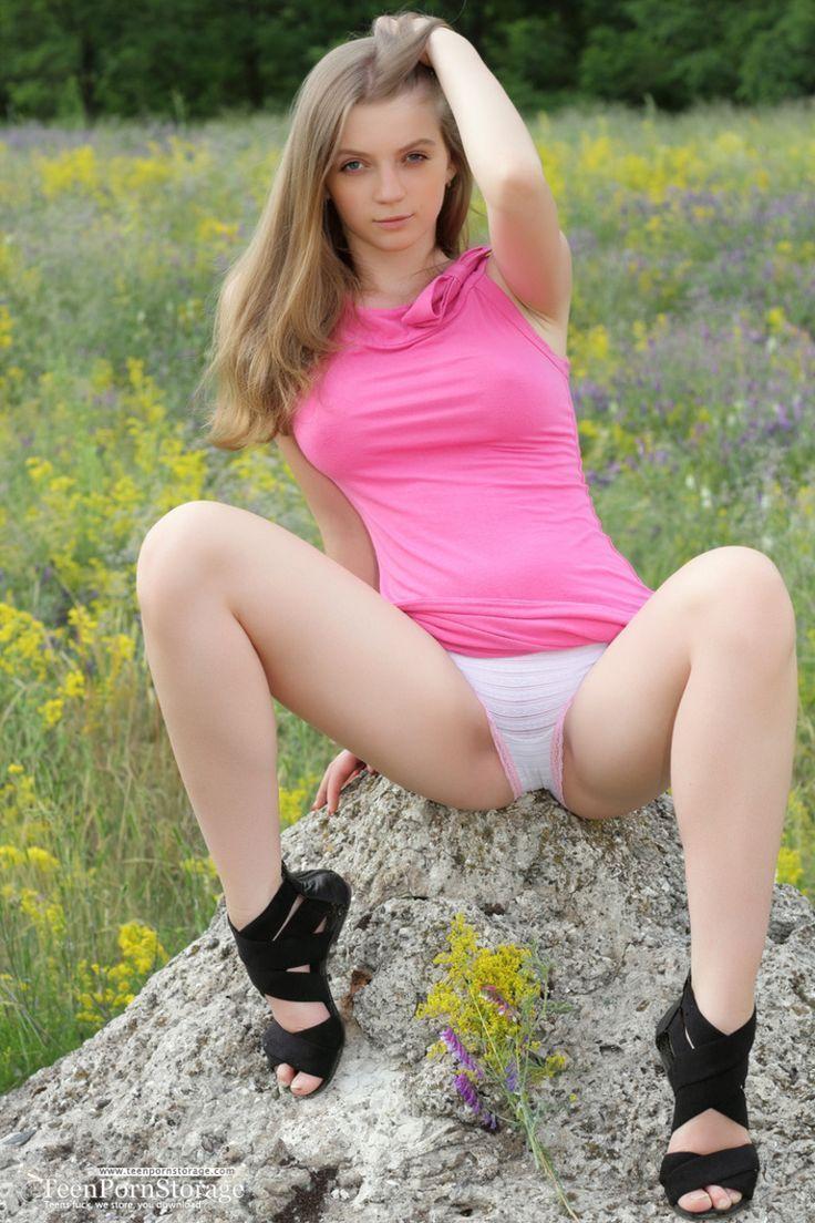 Naked girl giving handjobs