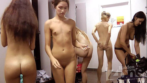 First time naked in locker room all