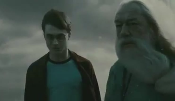 Harry potter deathly hallows trailer funny
