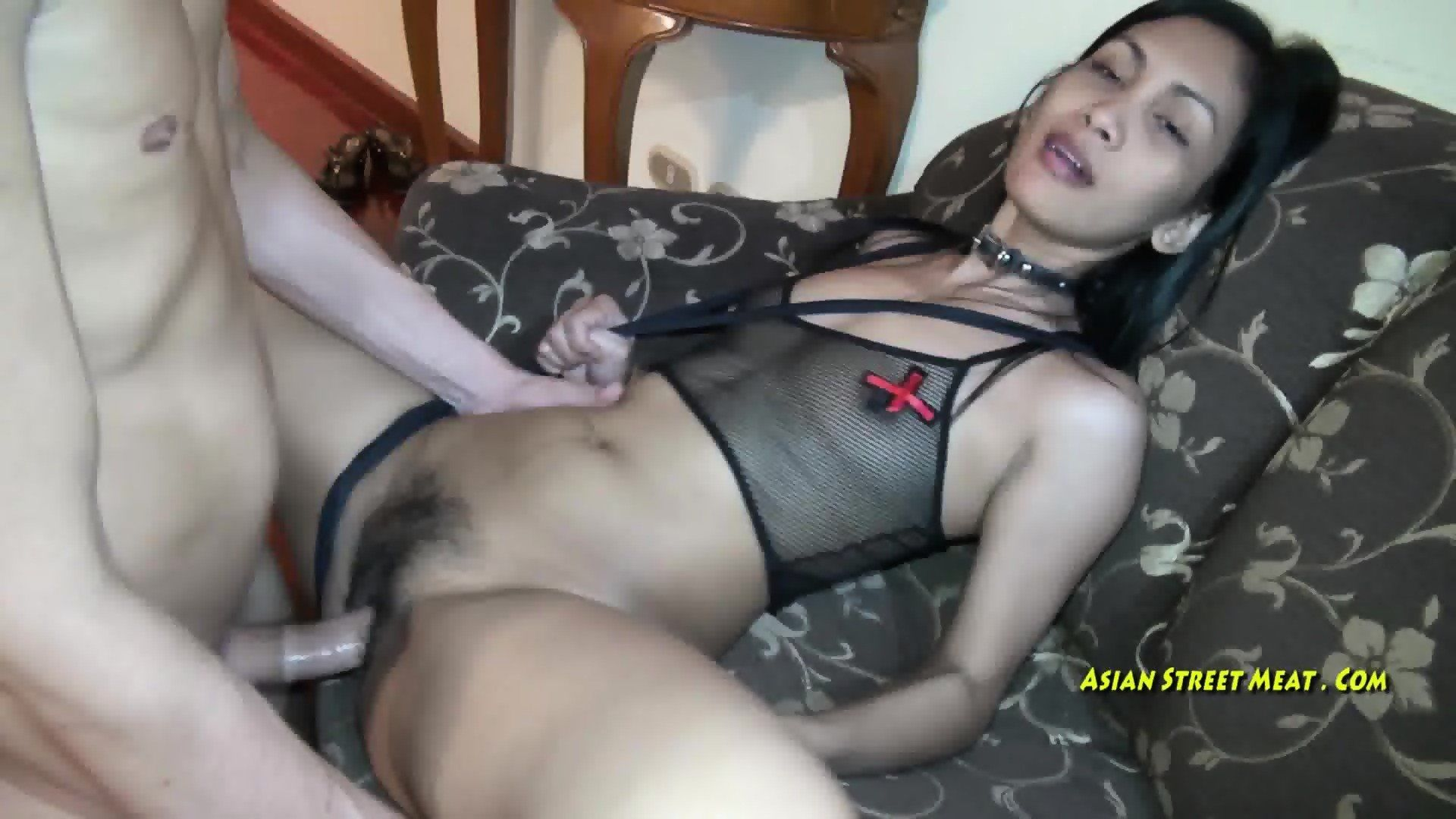 Lord P. S. reccomend Thai street meat vaginal cumshot