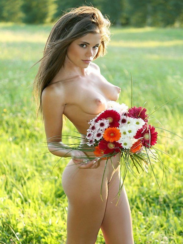 best of Flowers in Nude girls