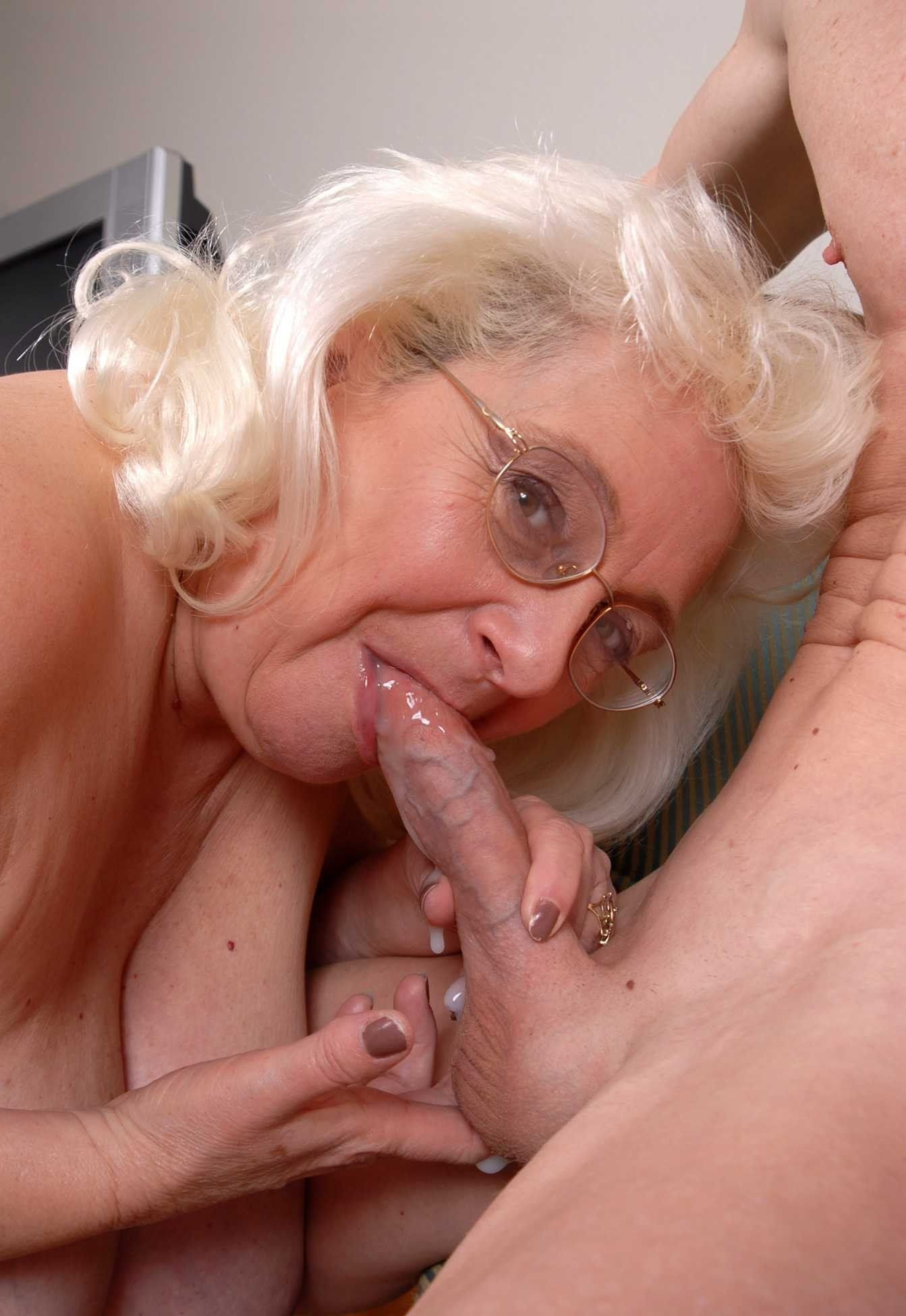 have faced amateur skinny old lady fuck young men have hit the