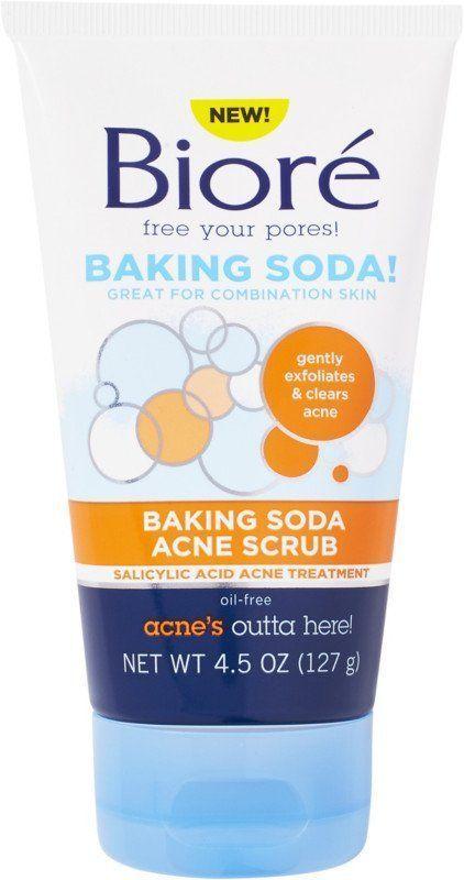 Goobers reccomend Baking soda for facial scrub