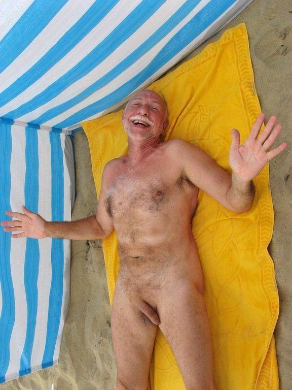 best of Beach and pixs granny grandad Nudist