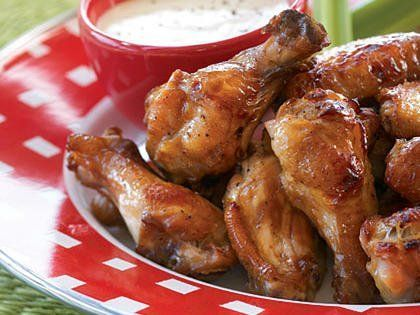 Asian chicken wings fried
